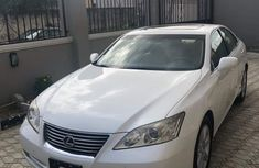 2008 LEXUS ES350 White for sale