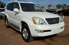 2007 Lexus GX 470 White for sale