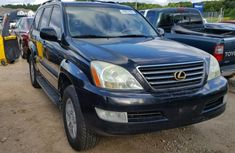 2004 Lexus GX 470 Black for sale