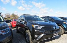 2018 Toyota RAV4 Hybrid Black for sale