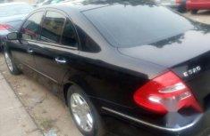Mercedes-Benz E320 2003 Black for sale