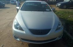 Toyota Solara 2005 Silver for sale