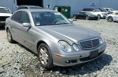 2005 Mercedes Benz E320 Silver for sale