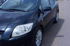 Toyota Auris 2008 Black for sale