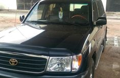 Toyota Land Cruiser 2002 Black for sale