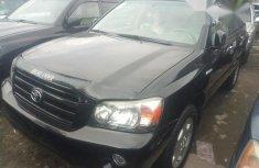 Toyota Highlander 2005 Black for sale