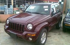 Jeep Jeepstar 2002 Red-wine for sale