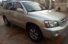 Toyota Highlander 2007 Silver for sale