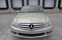 Mercedes Benz C300 2010 Gold for sale