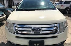 Ford Edge White 2010 for sale
