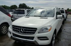Mercedes Benz ML350 2011 White for sale