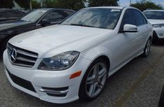 2015 Mercedes-Benz C-Class White for sale