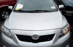 2010 Toyota Corolla Sport Silver for sale