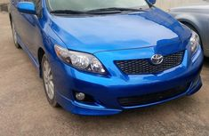 2010 Toyota Corolla Blue for sale