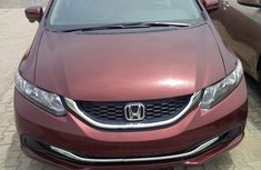 2015 Honda Civic Red-wine for sale