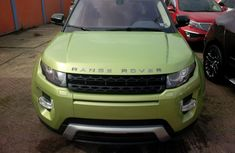 2015 Land Rover Range Rover Evoque Green for sale