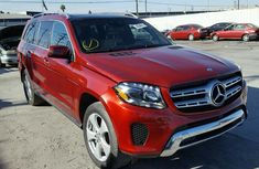 Mercedes Benz GL450 2005 Red for sale