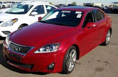 Lexus IS350 2010 red for sale