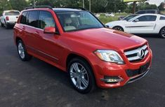 Mercedes Benz GLK350 2015 Red for sale