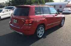 Mercedes Benz GLK 2011 red for sale
