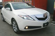Acura ZDX 2012 white for sale