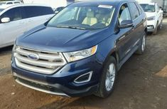2014 FORD EDGE Blue for sale