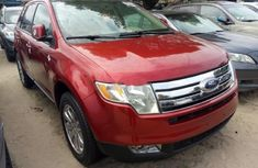 Ford Edge 2009 red for sale