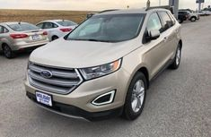 Ford Edge 2015 Gold for sale