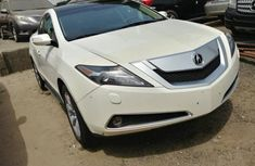 2011 Acura ZDX White for sale