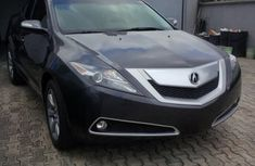 Clean 2013 Acura ZDX Black for sale