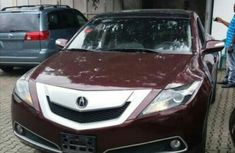Acura ZDX 2010 Red-wine for sale