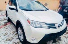 2014 Toyota Rav4 White for sale