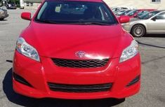 Toyota matrix 2007 red model for sale