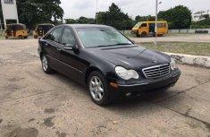Tokunbo 2004 Mercedes Benz C320 Black for sale