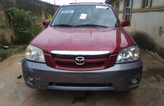 Tokunbo 2004 Mazda Tribute Red for sale