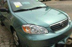 Toyota corolla 2007 green for sale