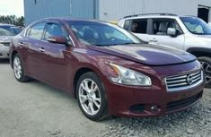 2013 Nissan Maxima Red for sale