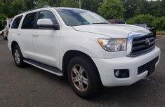 2015 Toyota Sequoia White for sale