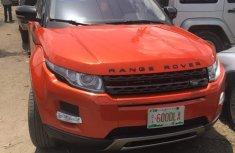 Tokunbo 2014 Range Rover Evogue Orange for sale
