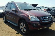 2010 Mercedes Benz ML350 Red for sale