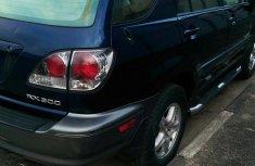 Clean Lexus RX300 2001 Blue for sale