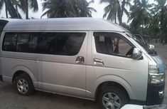 Toyota HiAce Bus 2012 Silver for urgent sale