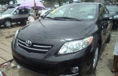Toyota corolla sport 2010 black for urgent sale
