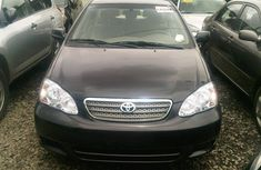 Toyota corolla sport 2004 black for urgent sale
