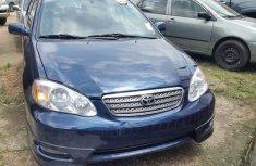 Toyota corolla sport 2005 blue for urgent sale