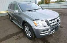 Mercedes Benz GL 450 2010 Silver for sale