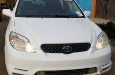 Tokunbo 2004 Toyota Matrix White for sale