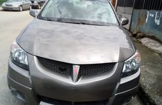 Tokunbo Clean 2004 Pointiac Vibes Silver for sale