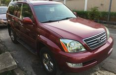 TOKUNBO 2008 LEXUS GX470 RED FOR SALE