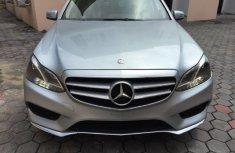 2014 Silver Mercedes Benz E350 for sale